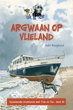 Argwaan op Vlieland Boek omslag