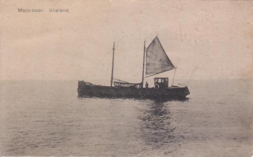 Moterboot Vlieland